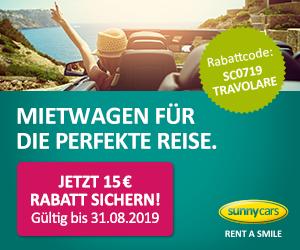 Sunny Cars Gutschein 10 % Rabatt